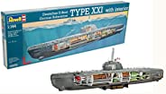 Revell 05078 U-Boat XXI 类型w.Interieur 模型套件