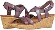 Skechers 斯凯奇女式露跟坡跟凉鞋