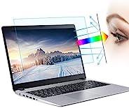 (2 件装) 15.6 英寸防蓝光笔记本电脑屏幕保护膜,防眩光过滤*保护蓝光阻挡屏幕保护膜(15.6 英寸 16:9 宽高比笔记本电脑)