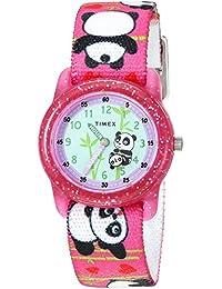 Timex 兒童TW7C771009J  Analog 尼龍 粉色 TW7C771009J watches