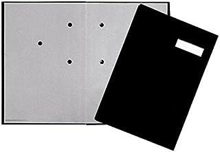 Pagna 签字文件夹 5 件套 带亚麻封面 弹性背部