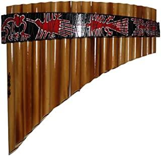 Burnt Bamboo 18 管可调平底长笛 - G 主要
