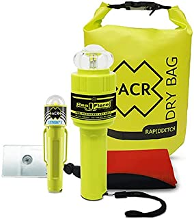 ACR E-Flare and Drybag *套件 (2358) - 电子船用喇叭符合 USCG 要求