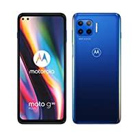 """Motorola 摩托罗拉 g 5G plus(5G、6.7"""" FHD+、高通骁龙 SD765,48MP 四摄像头系统,5000 毫安电池,双 SIM 卡,6/128GB,Android 10),冲浪蓝(亚马逊*销售)"""