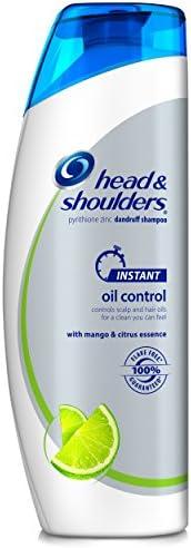 头部和肩部即时控油头皮屑洗发水380毫升