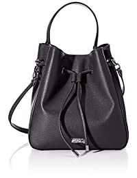 HUGO Women's Victoria Drawstr-p Cross-Body Bag