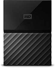 Western Digital My Passport 4TB 便携式移动硬盘 适用于PC, Xbox One 和 PlayStation 4 - 黑色