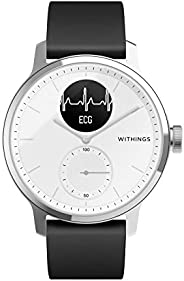 Withings ScanWatch 混合智能手表 帶心電圖、心率傳感器和氧儀