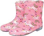 长靴 儿童 可爱 雨靴 独角兽 L:约20cm 85053
