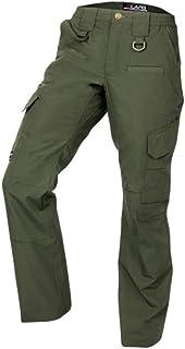 LA Police Gear 女士弹力 WB 8 口袋操作员战术裤 OD 绿色 4-REGULAR