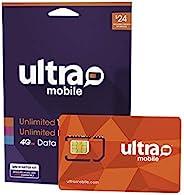 $24 *手机计划 | 无限通话和短信 + 3GB 5G • 4G LTE 数据(3 合 1 GSM SIM 卡)