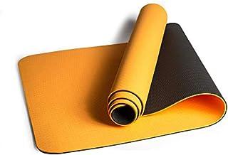 Q1 瑜伽垫,环保防滑双色锻炼和健身垫,带肩带,72 英寸 x 24 英寸(约 182.88 厘米 x 60.96 厘米)超厚 0.64 英寸(约 1.9 厘米)适用于瑜伽普拉提健身锻炼