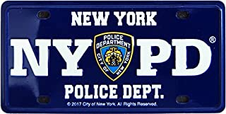 NYPD 牌照纪念锡磁贴