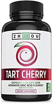 Zhou Nutrition 酸樱桃提取物+芹菜籽胶囊