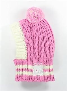 Hip Doggie HD 7CPP-L Crown 针织帽 - 狗帽子,L,粉色