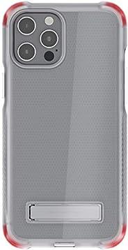 Ghostek Covert Clear 专为 iPhone 12 Pro Max 设计 硅胶材质 带金属支架 兼容 MagSafe 和无线充电超薄手机壳 适用于 2020 iPhone 12 Pro Max 5G (6