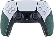 eXtremeRate PlayVital 松*防滑吸汗控制器手柄适用于 Playstation 5 控制器,专业纹理软橡胶垫手柄,适用于 DualSence PS5 控制器