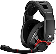 Sennheiser 森海塞尔 GSP 600 头戴式降噪游戏耳机 - 红色/黑色