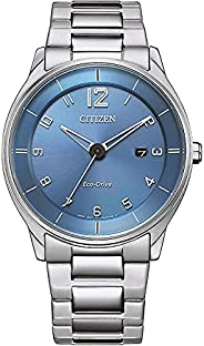 Citizen 西铁城 男式模拟光动能手表不锈钢表带 BM7400-71L