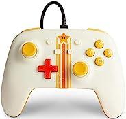 Nintendo Switch PowerA 增强型有线控制器 - Vintage Star、游戏手柄、有线视频游戏控制器、游戏控制器 - Nintendo Switch (仅在亚马逊销售)