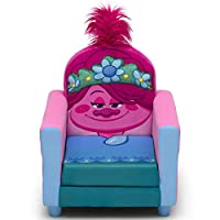 Delta Children Figural 软垫儿童椅,魔魔王世界巡回演唱会罂粟花