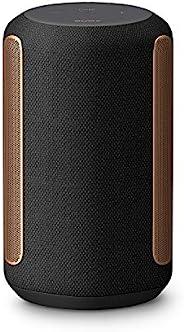Sony 索尼 SRS-RA3000 蓝牙音箱 多房间支持 (空间充填声音 360 现实音频 Wi-Fi 防潮 支持Alexa)黑色