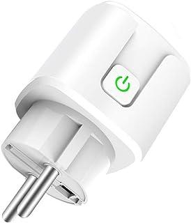 SaiDian 1 件 EU 插头 WiFi 电源插座 无线远程插座 家庭智能遥控计时器开关