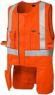 Blakläder High-Vis背心,2级,1件,尺寸XL,橙色,302718045300XL