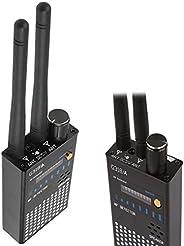 反间谍射频信号无线昆虫隐藏摄像头探测器 GSM 听力 GPS 跟踪器探测器 (G318 和 G319 更新版本) (黑色)