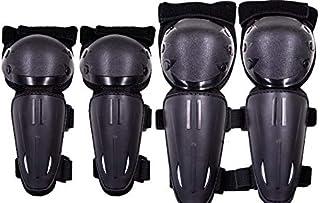 Seahouse 儿童越野自行车护膝护胫青少年防护装备套装 4 件套