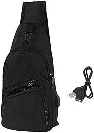 HDE 男士单肩包 背包 斜挎 通勤 日背包 旅行工作包