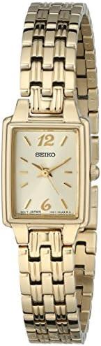 Seiko SXGL62 女士不锈钢手表,金色,无尺寸