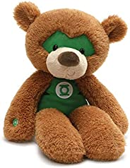 GUND DC Comics 宇宙绿灯侠毛绒泰迪熊填充动物毛绒玩具,棕色,14 英寸(约 35.6 厘米)