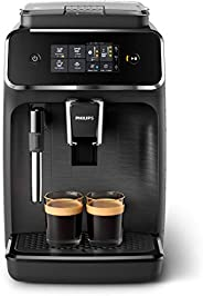 Philips 飞利浦 2200系列 全自动咖啡机 EP2220/10 2种特色咖啡饮品,黑色/拉丝黑