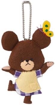 """SANFELT 手工套件 小熊学校 KG-4 """"JACY 的盛装"""""""