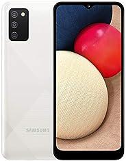 Samsung 三星 Galaxy A02s 4G 智能手机 6.5 英寸 Infinity-V HD + 屏幕 3 个后置摄像头 3 GB RAM 和 32 GB 可扩展内部内存 5000 mAh 电池和快速充电 -