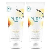 Gillette Venus PURE 剃須膏,麥盧卡蜂蜜和香草,6 盎司(約 170.1 克)(2 件裝)