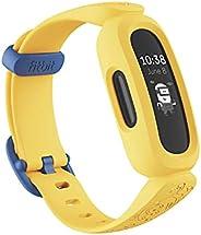 Fitbit 中性 Youth Ace 3 活动追踪器 黑色 / 小黄人黄色 均码
