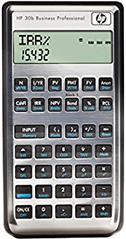 HP 30B 商务专业财务计算器
