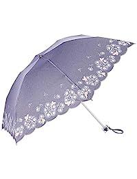 [月球] LANVIN en Bleu 蓝宝石 女人 折叠伞 UV 隔热 遮光 轻便 时尚 雨晴两用 女士