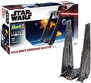 Revell 威望 06746 迪士尼星球大战 Kylo Ren's Command Shuttle 原厂设计模型套装 适用于入门级,多色,
