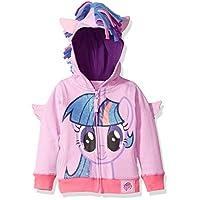 My Little Pony 幼儿女童 MLP 紫色 RARITY 羊毛 W 流苏 and 3d WG