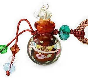 王廷珠宝 雾里看花琉璃百宝瓶项链-咖啡