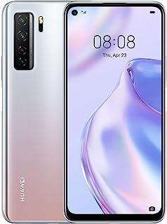 Huawei 華為 P40 Lite 5G - 128 GB 6.5 英寸智能手機 帶 Punch FullView 顯示屏,64 MP AI 四攝像頭,4000 mAh 大容量電池,40W 超負荷,6 GB 內存,無鎖卡安卓手機,雙 SIM ...