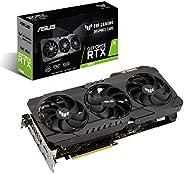 ASUS 华硕 TUF Gaming NVIDIA GeForce RTX 3080 OC 版显卡(PCIe 4.0,10GB GDDR6X,HDMI 2.1,DisplayPort 1.4a,双滚珠风扇轴承,*级认证,