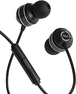 360 个超低音有线耳塞,带麦克风和呼叫控制的深低音入耳式耳机,3D 5.1 虚拟环绕声,适用于电影、音乐、游戏、VR和运动