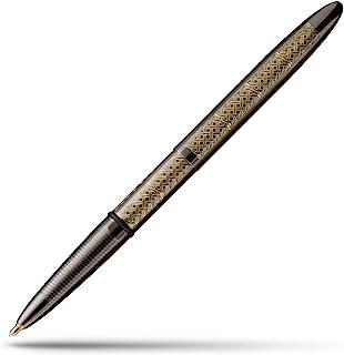 鈦-丁腈子彈太空筆,機械雕刻設計(黑色- 凱爾特)