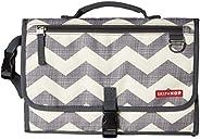 美国Skip Hop Pronto便携式多功能婴儿换片垫/布尿垫-雪佛龙灰SH202204
