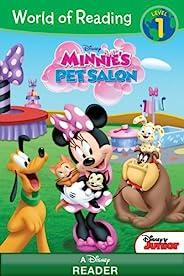 World of Reading Minnie: Minnie's Pet Salon: Level 1 (English Edit