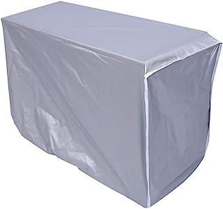 Hosmide 经典空调保护罩户外聚酯防水防尘罩,适用于空调(90 x 40 x 73 厘米)